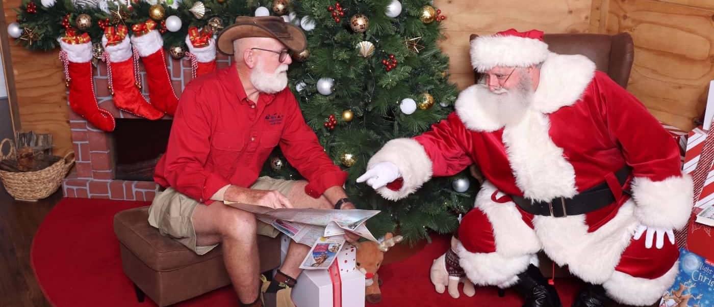 Santa and Dayv