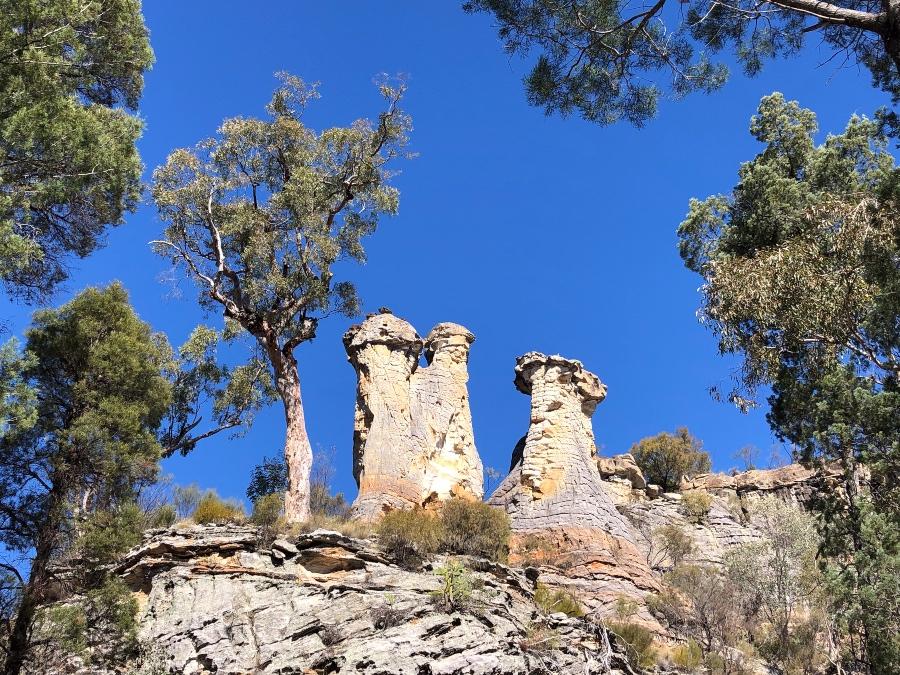The Chimneys Mount Moffatt Queensland