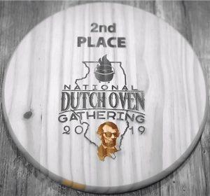 Gidgee Gang - Patricia & Bruce - Dutch Oven Award