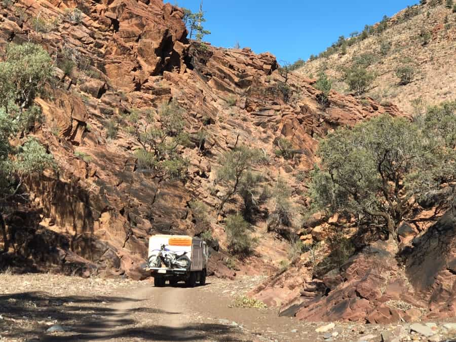 Convoy travel in Australia
