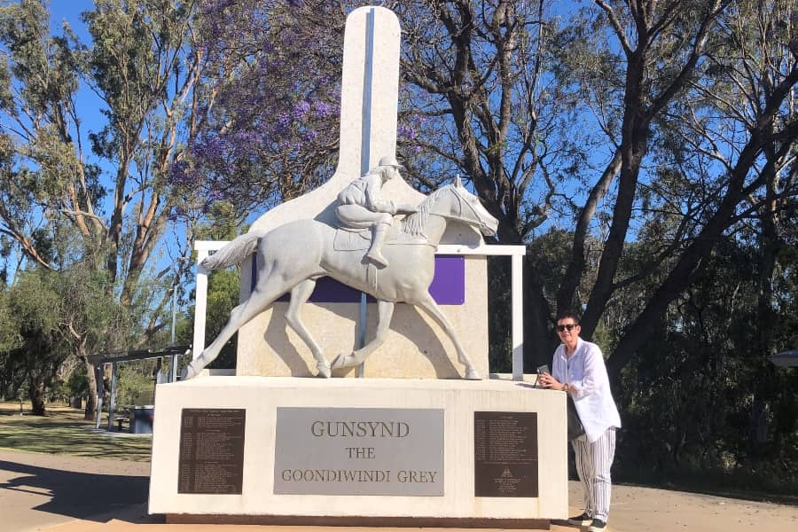 Gunsynd the Goondiwindi Grey