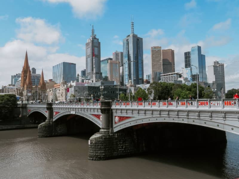 Melbourne Victoria during the day