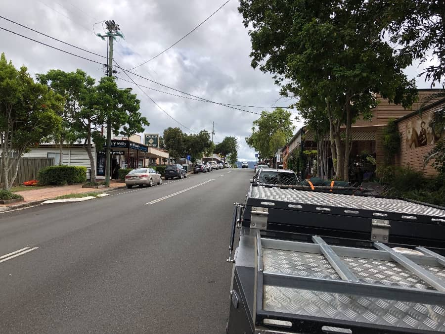 Kenilworth and its coffee and gift shops